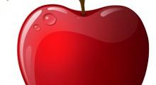 manzana vectorial