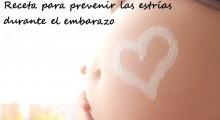 mi tripita de embarazada con un corazón de crema nivea