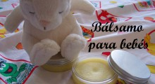 balsamo para bebes junto a un conejo de juguete